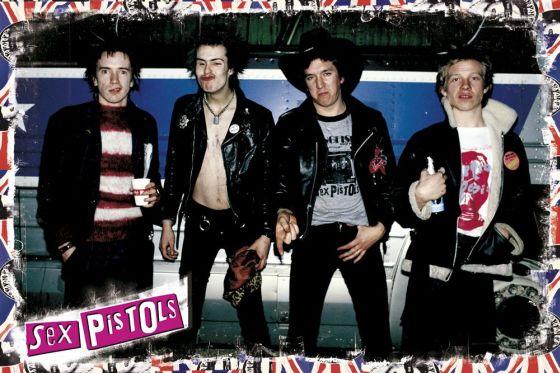 Band Portrait Sex Pistols.
