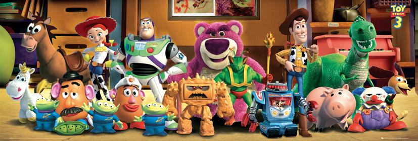 Toy Story 3 Bohaterowie Plakat Galeria Plakatu