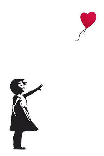 Banksy Dziewczynka Z Balonikiem Nadzieja Plakat
