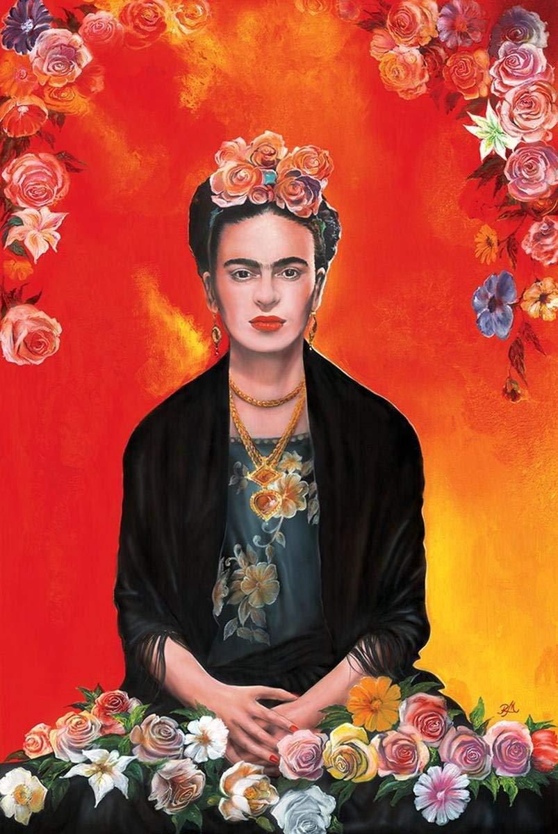 Frida Kahlo Medytacja Plakat