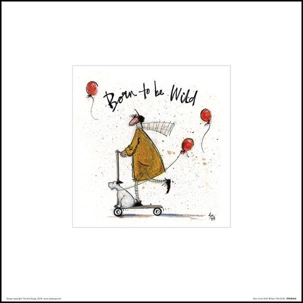 Sam Toft Born To Be Wild Plakat Premium