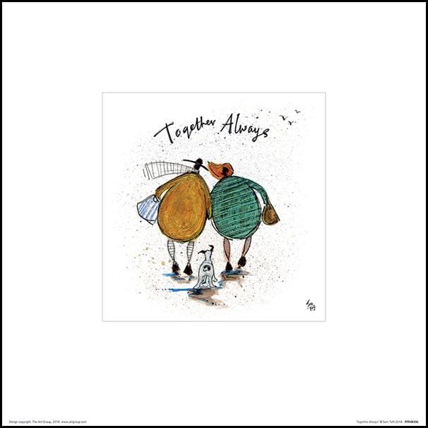 Sam Toft Together Always Plakat Premium