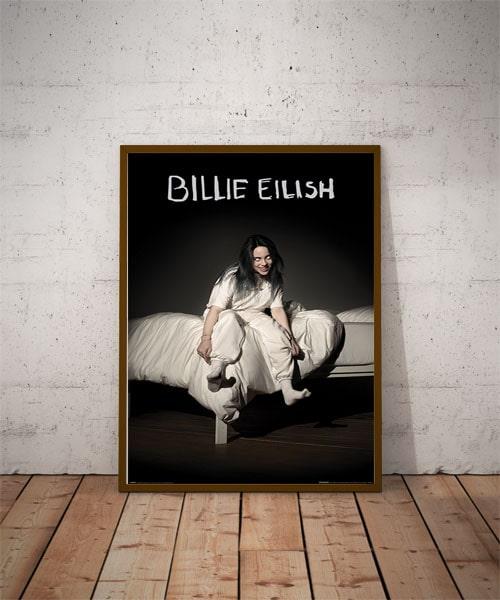 Billie Eilish When We All Fall Asleep Where Do We Go Plakat