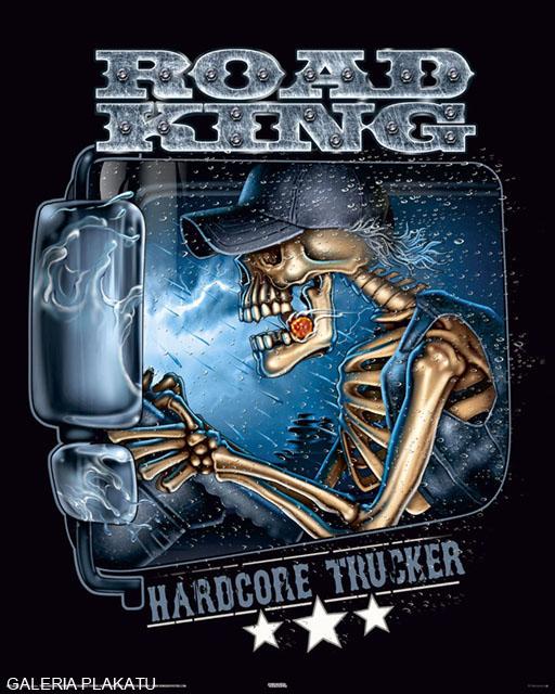 Hardcore Trucker Kierowca Tira Plakat